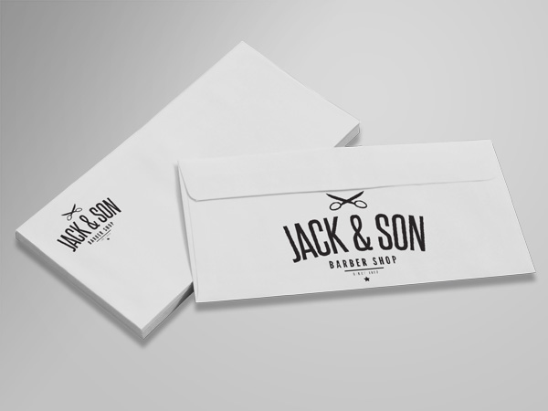 Envelope design and printing