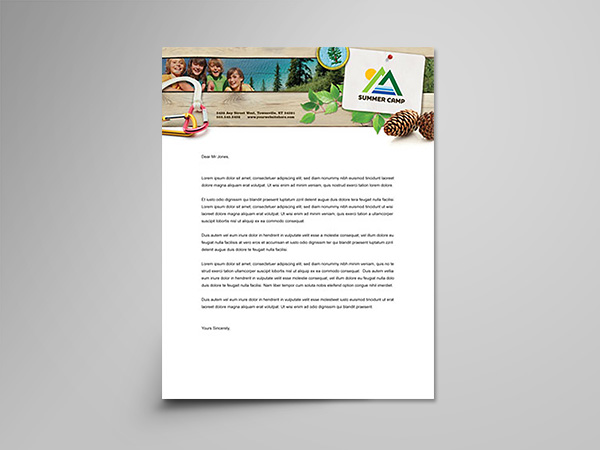 Letterhead design and printing